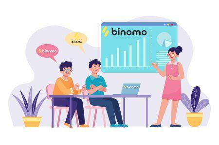 Cómo registrarse y comerciar en Binomo